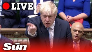 Boris Johnson's first appearance as PM in the Commons | Live replay
