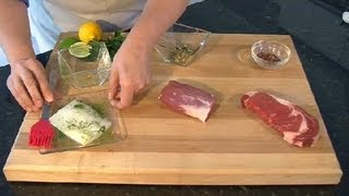 How To Apply Meat Rubs : Meat Preparation Tips