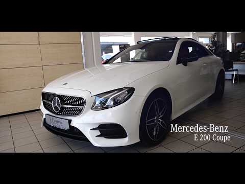 video Mercedes-Benz E 200 Coupe 4M AMG COMAND DRIVE + PANORAMA360°
