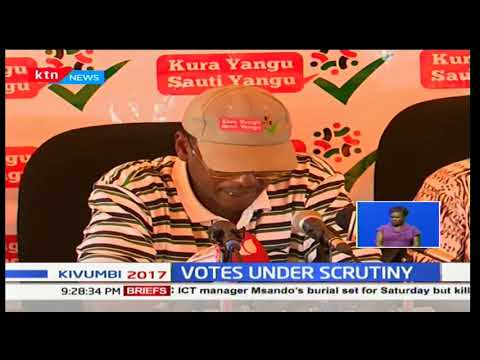 Kura Yangu Sauti Yangu release new report claiming election results released had contradictions