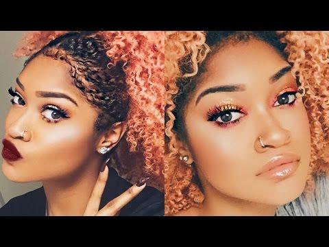 Bold Eyes vs Bold Lips | Holiday Makeup Tutorial | Bri Hall