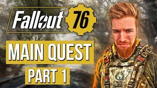 Fallout 76 Main Quest Walkthrough Part 1 (SOLO Sniper Build)