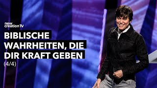 Biblische Wahrheiten, die dir Kraft geben 4/4 – Joseph Prince I New Creation TV Deutsch