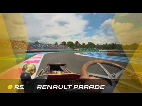 Renault Sport Passion Parade at Grand Prix de France