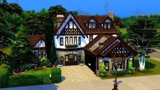 The Sims 4    Speed Build    Rosewood Lane