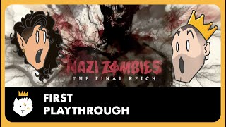 COD WW2 Zombies First Playthrough!