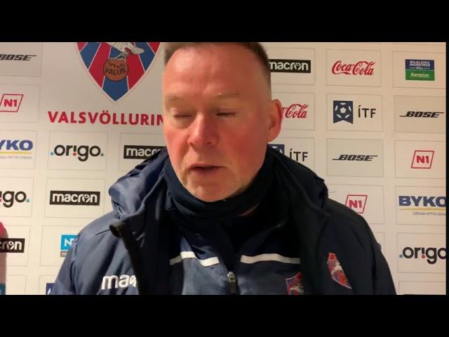 Heimir Guðjóns: Við tökum einn leik í einu