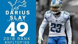 #49: Darius Slay (CB, Lions)   Top 100 Players of 2018   NFL