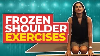 Frozen Shoulder: Four Exercises To Improve Stiffness And Relieve Pain