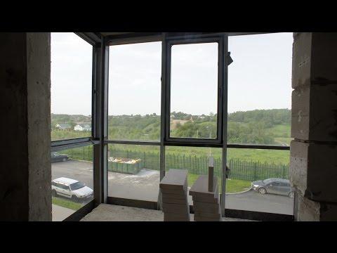 Фасадное - панорамное остекление и утепление лоджии/балкона Окна Kaleva Deco