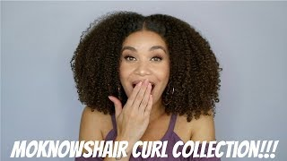 MoknowsHair Curl Collection | Natural Hair | Lyasia in the City