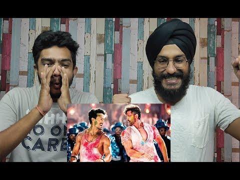 Jai Jai Shivshankar Song REACTION   War   Hrithik Roshan   Tiger Shroff  