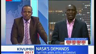 NASA sets new demands to IEBC