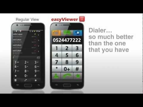 Video of easyViewer BIG FONT & Keyboard