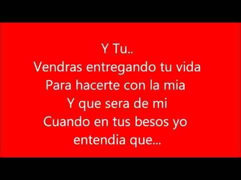 Franco de vita ft Alejandra Guzman -Tan solo tu (letra)