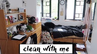 Clean My Dorm Room With Me!! | Declutter And Organization Timelapse | Spelman College Edition
