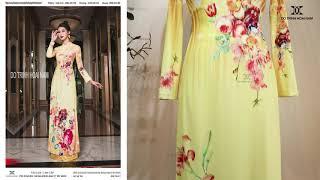 Mẫu áo dài du xuân đẹp 2021 | Áo Dài Đỗ Trịnh Hoài Nam