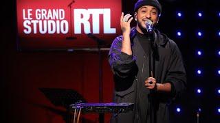 Slimane - La chanson des vieux amants (LIVE) Le Grand Studio RTL
