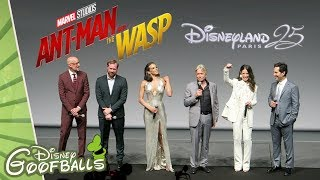 ANT-MAN And The Wasp PREMIERE with PAUL RUDD and MICHAEL DOUGLAS - Disneyland Paris 2018