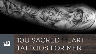 100 Sacred Heart Tattoos For Men