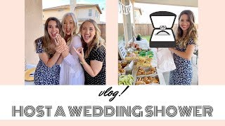 Host A Wedding Shower With Me! | VLOG