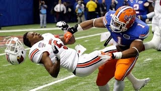 College Football's Biggest Hits and Best Plays Compilation - 2015