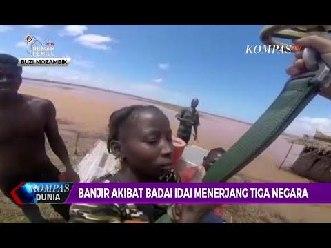 Korban Meninggal akibat Topan Idai di Mozambik Capai 1.000 Orang