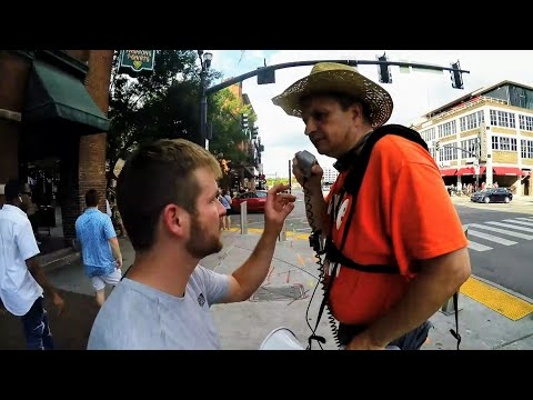 Street Ministry on the corner of 'Love & Tolerance' | Lower Broad | Nashville TN | 7-20-19 (Part #2)
