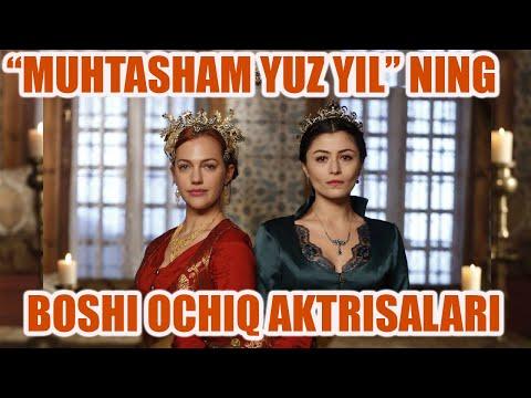 """""""Muhtasham yuz yil"""" serialining boshi ochiq aktrisalari haqida."""