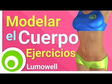 Tonificar y Modelar el Cuerpo: Cardio + Piernas, Glúteos, Abdomen y Brazos + Estiramientos