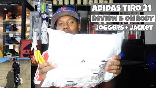 Adidas Tiro 21 Joggers and Jacket Review & On Body!! Is It Worth It? You Make The Call