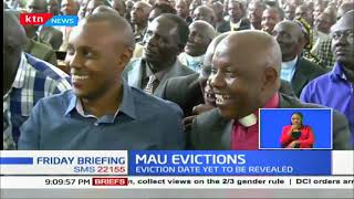 North Rift leaders came out guns blazing over impending Mau Forest Eviction