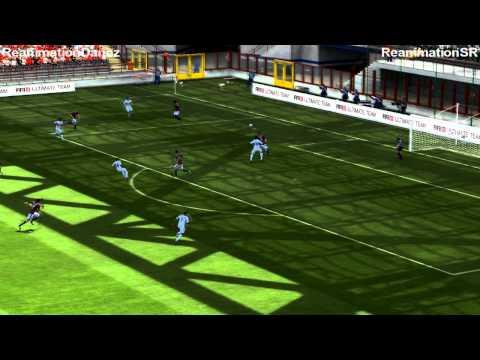 FIFA 13 2VS2 Online Magyar Gameplay ► AC Milan VS Tottenham Hotspur HD