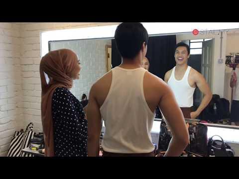 Stail.My ❤️ Uniqlo Baju Melayu: Syafiq Nazri & Nadia Azlan Shah