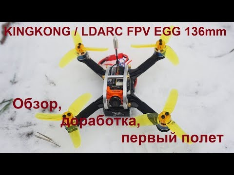 KINGKONG / LDARC FPV EGG 136mm