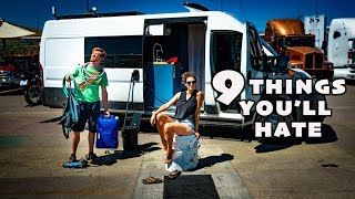 9 Things You'll HATE about Van Life