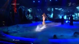HD Eurovision 2013 Ukraine: Zlata Ognevich - Gravity (1st Semi-Final)