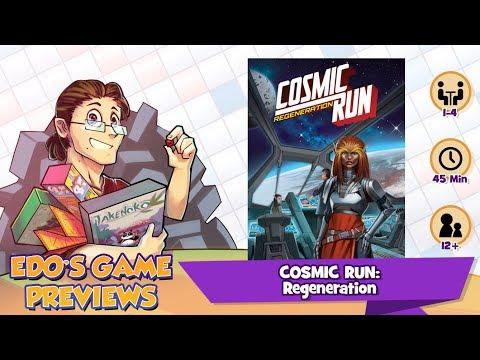 Edo's Cosmic Run: Regeneration Review (KS Preview)