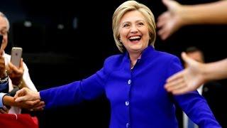 Presumptive Democratic nominee Hillary Clinton encourages California to vote
