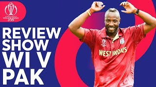 The Review - West Indies Vs Pakistan | Windies Crush Pakistan! | ICC Cricket World Cup 2019