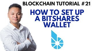 Blockchain Tutorial #21 - How To Setup A Bitshares Wallet