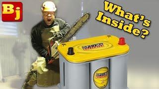 What's Inside an Optima Battery??? AGM Battery's Dirty Little Secrets!