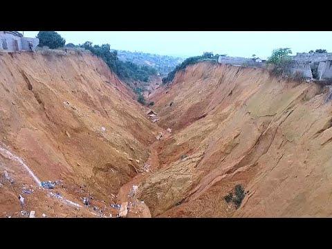 Congo : Les érosions font des ravages Congo : Les érosions font des ravages