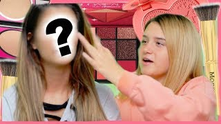 MY 14 YEAR OLD NIECE DOES MY MAKEUP!