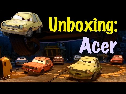 Disney Pixar Cars 2 Toy Unboxing: Acer, The AMC Pacer