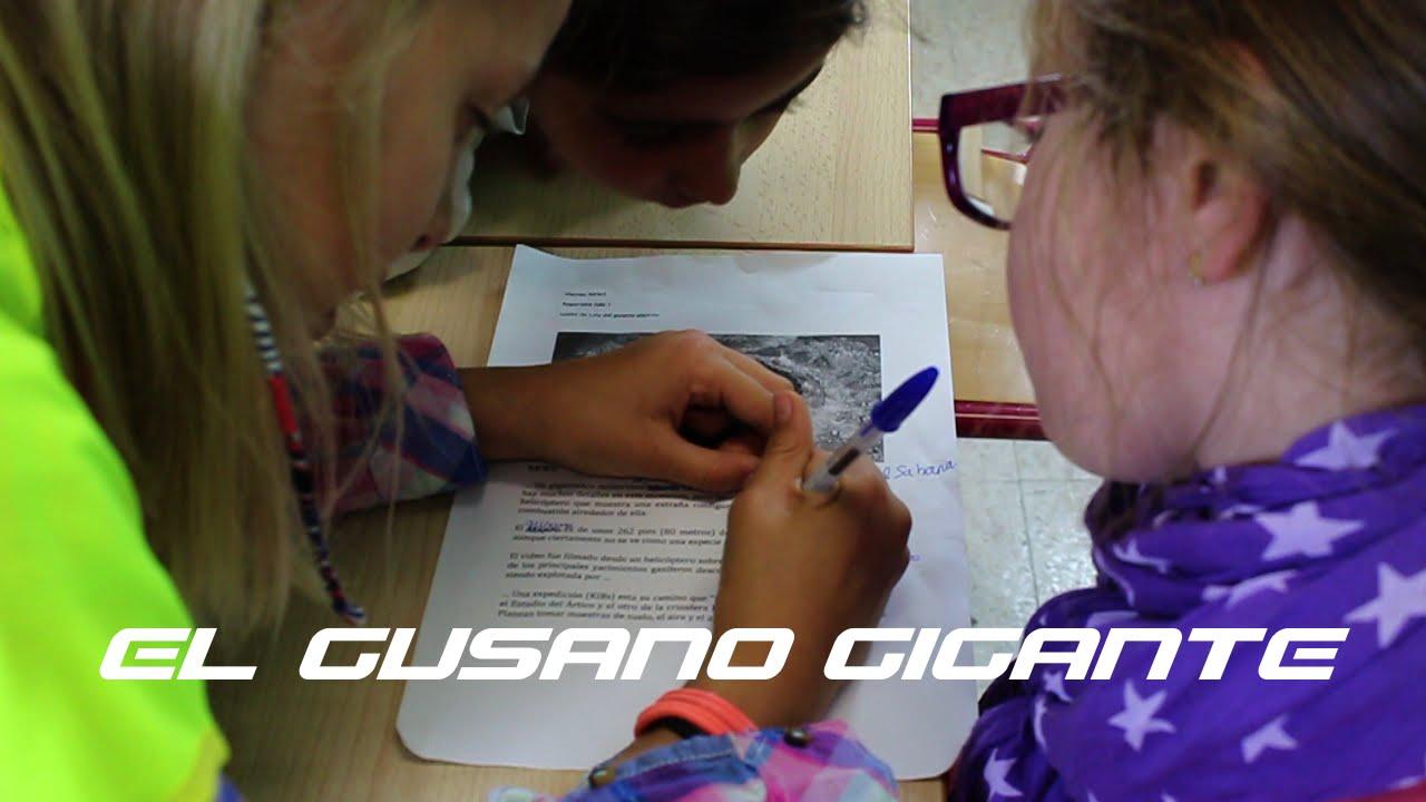 Behind the News: EL GUSANO GIGANTE