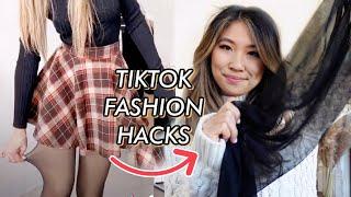 8 TikTok Fashion Hacks that TRANSFORMS Your Loungewear for FREE!