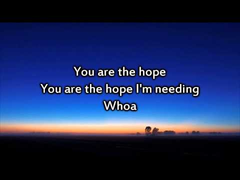 Colton Dixon - You Are - Instrumental with lyrics