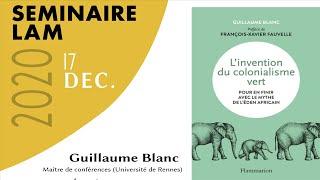 Séminaire LAM : rencontre avec Guillaume Blanc