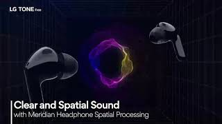 YouTube Video llk8XFjQFcQ for Product LG TONE Free HBS-FN4 True Wireless Headphones by Company LG Electronics in Industry Headphones